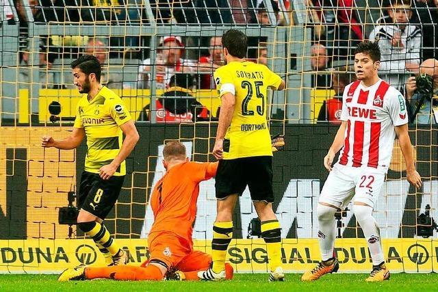 Köln protestiert gegen 0:5-Niederlage gegen Dortmund
