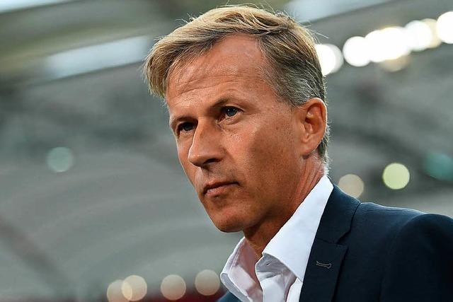 Wolfsburg trennt sich von Trainer Andries Jonker