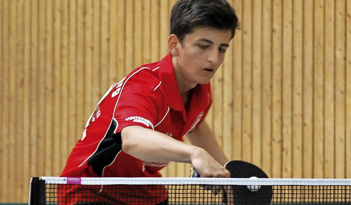 <BZ-FotoAnlauf>Tischtennis:</BZ-FotoAn...hied zu Gunsten der TTSF Hohberg aus.   | Foto:  Verein