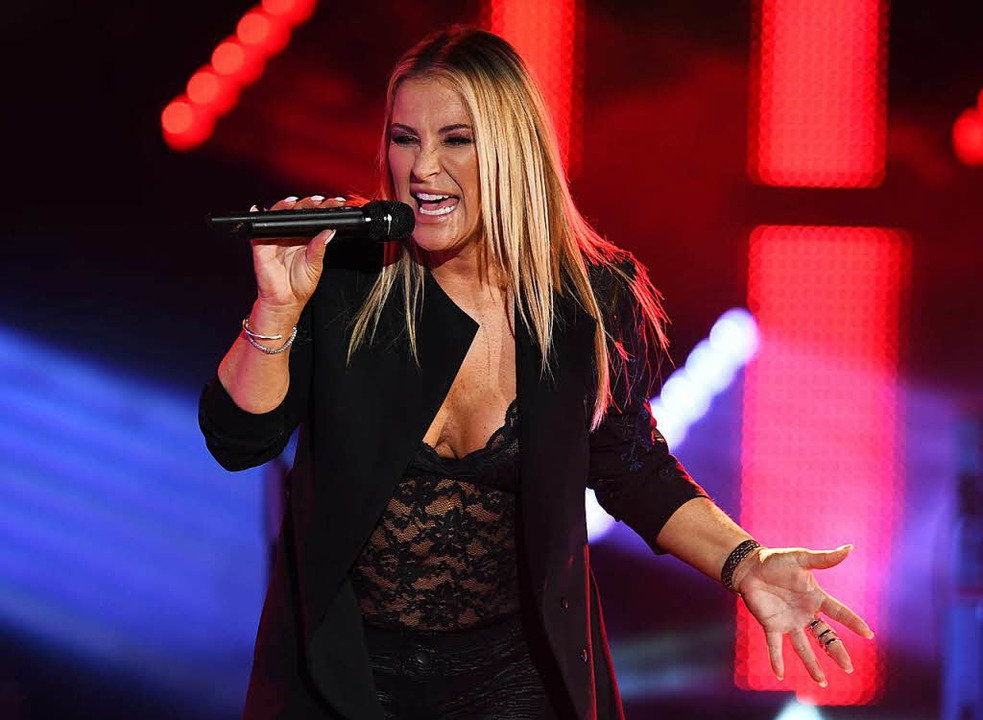 Anastacia wurde mit dem SWR3 Pioneer of Pop für das Lebenswerk ausgezeichnet  | Foto: dpa