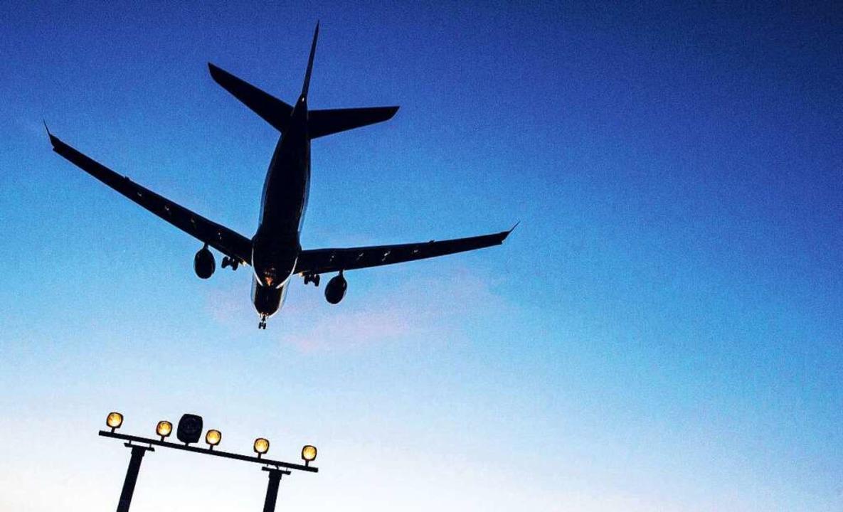 Exportiert die Schweiz Fluglärm nach Deutschland?  | Foto: Paul Zinken