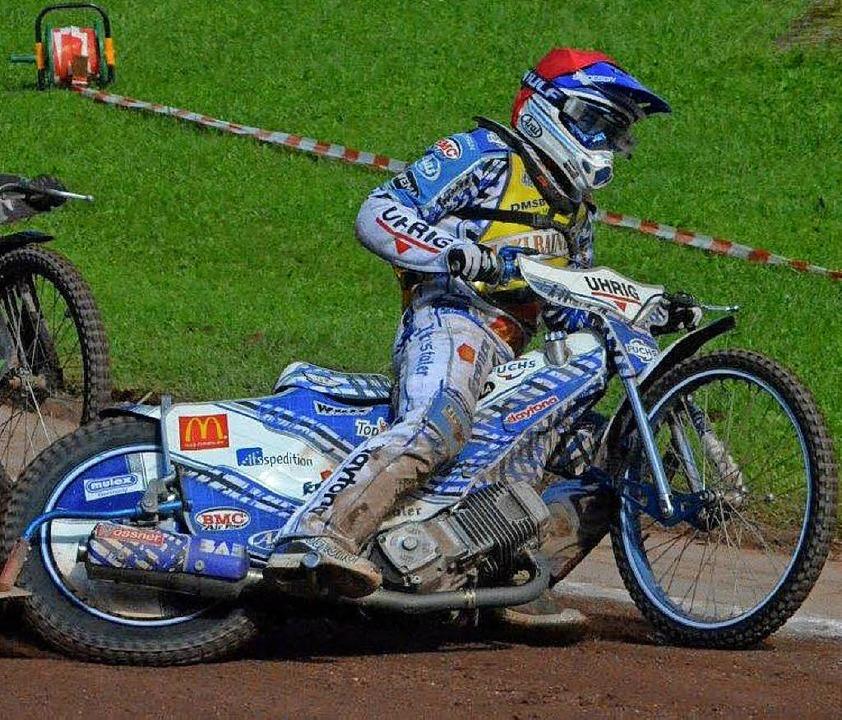 Maximilian Dilger fuhr in Olching auf Platz vier.   | Foto:  Team