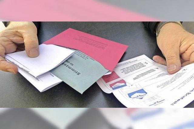 Immer mehr wählen vor dem Wahltag
