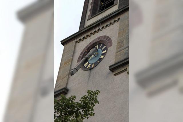 Glockenstuhl wird erneuert