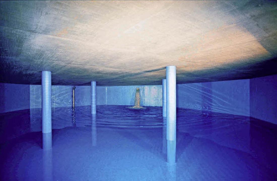 Die Wasserkammer  Allmend: Kein Swimmi... in weniger als einem Tag verbrauchen.    Foto: SWE