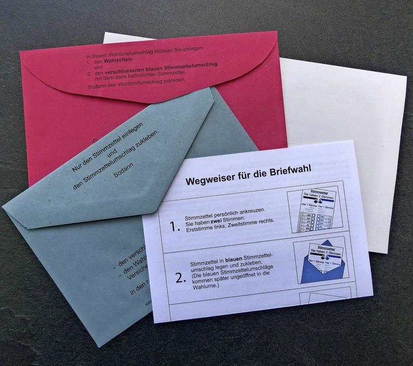 Briefwahlunterlagen haben mehr Menschen als sonst angefordert.   | Foto: Andrea Gallien