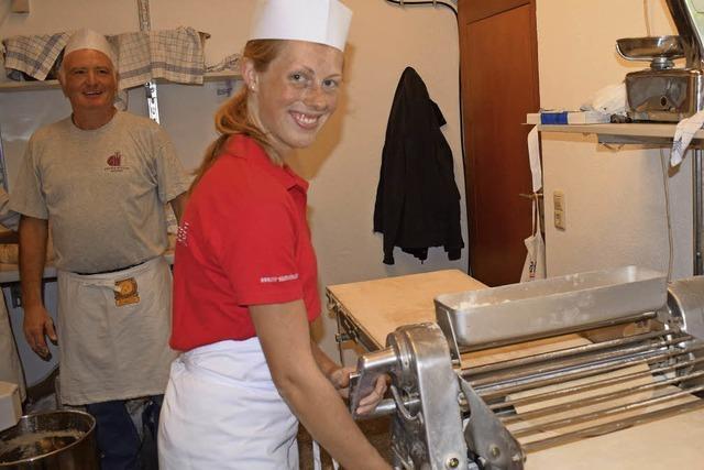 Viel Lob für die Zwiebelkuchenbäcker