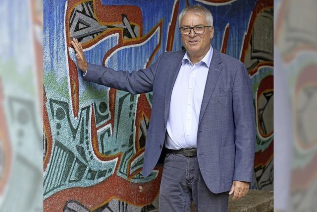 Comeback in neuer Funktion: Eberhard Fritz leitet das Eucken-Gymnasium