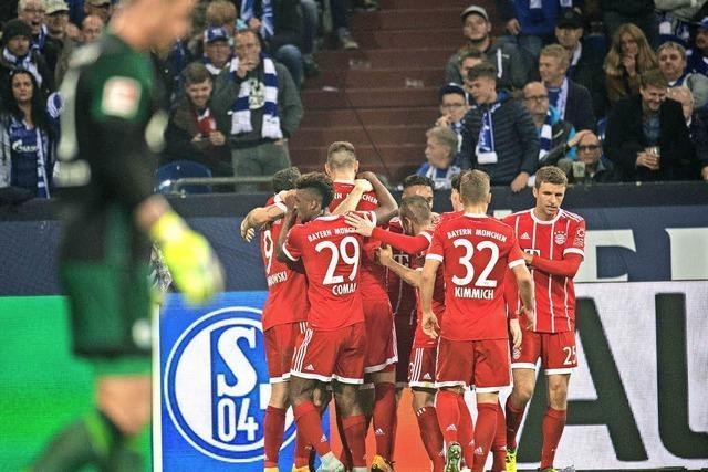 FC Bayern siegt mit 3:0 gegen Schalke 04