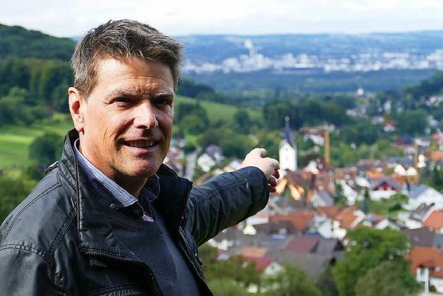 Vor der Wahl: Durch Inzlingen mit Marco Muchenberger