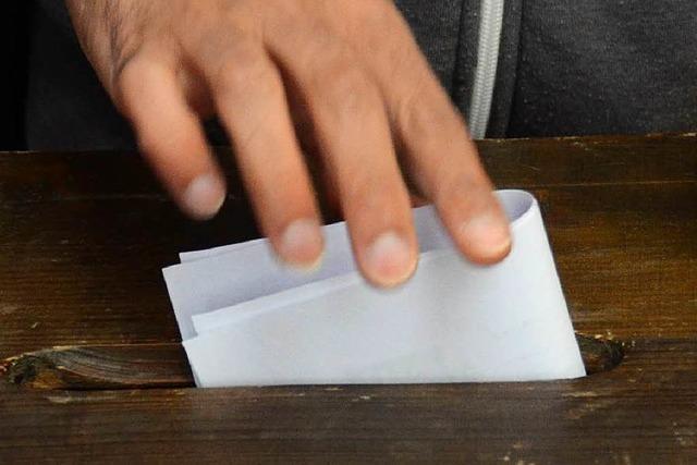 CDU liegt bei Lahrer Jugendlichen vorn – AfD chancenlos