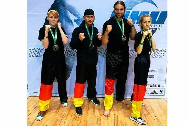Ein Zeller kickboxt sich zum Weltmeister-Titel