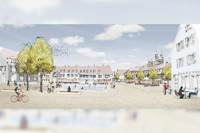 Umgestaltung von Breisachs Stadtmitte wird teurer