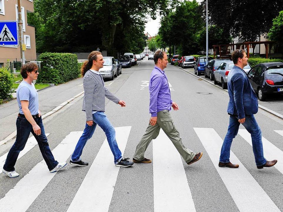 Er soll sagen, wo es künftig popmusika...z (2.v.r.) und seine Band The Brothers    Foto: Ingo Schneider