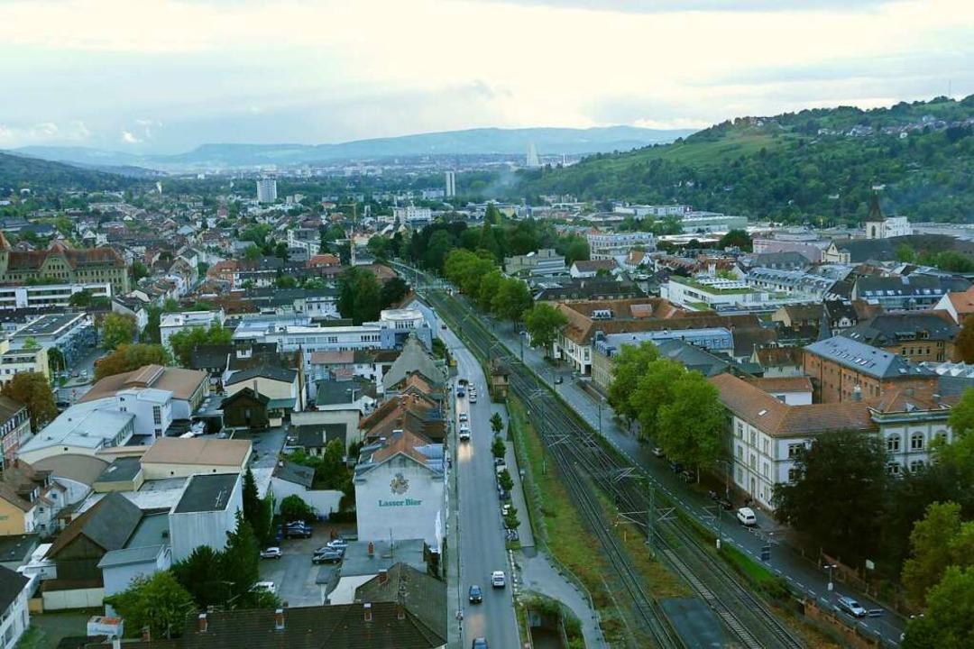 Der Blick über die Stadt    Foto: Sabine Ehrentreich