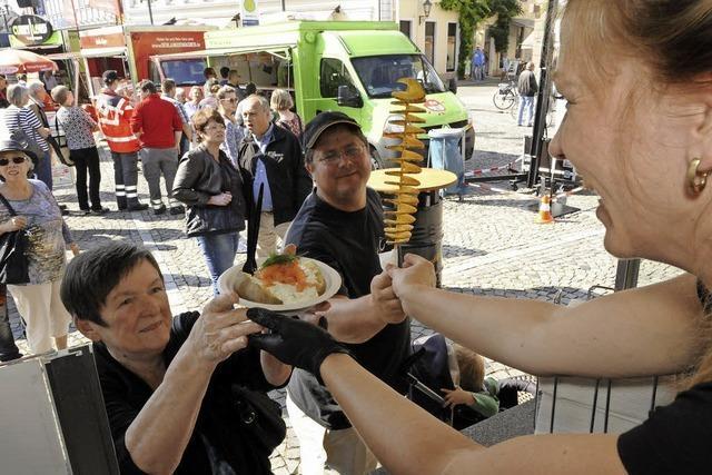Tipps und Tricks zum BZ-Food Truck-Fest am Samstag auf dem Gelände des Autohauses Schmolck