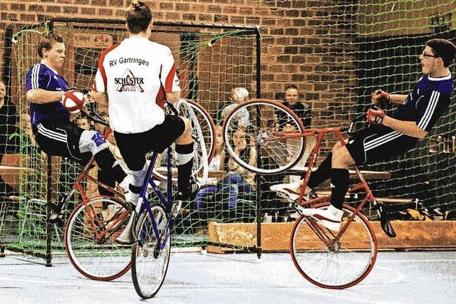 Radballer starten durch