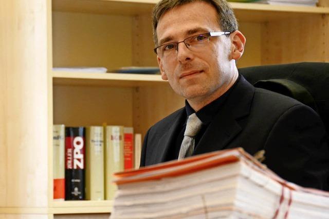 Das ist der neue Direktor des Lahrer Amtsgerichts