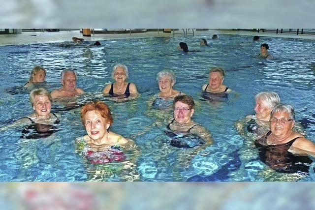 Behindertensportler verlassen Aquari