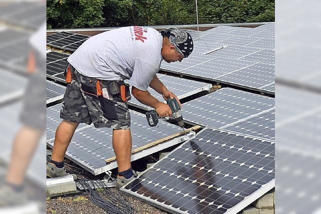 Kehl in der Solarbundesliga auf einem vorderen Platz