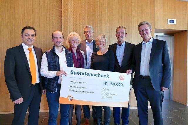 Testo fördert Projekte für Geflüchtete mit 60000 Euro