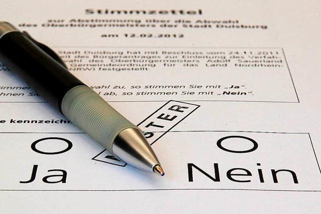 Bundestagskandidaten diskutieren in Offenburg über Volksentscheide auf Bundesebene – ohne die AfD