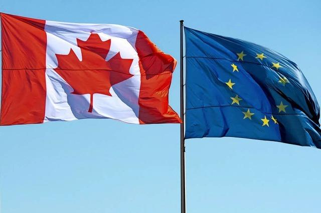 Freihandelsabkommen mit Kanada tritt provisorisch in Kraft