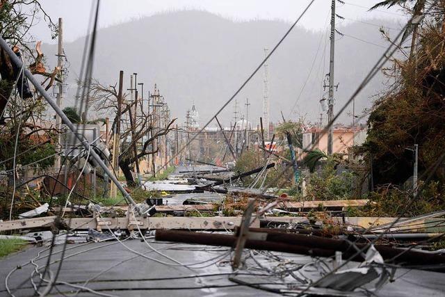 Eine zerstörte Insel: Hurrikan Maria verwüstet Puerto Rico