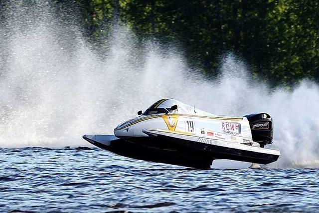 Ein Wittlinger fährt in der Formel 1 der Motorboote