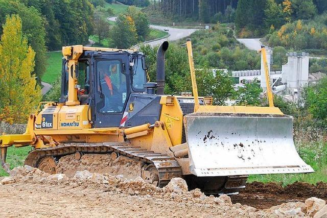 Hang rutscht an A 98-Baustelle – Gelände gesperrt