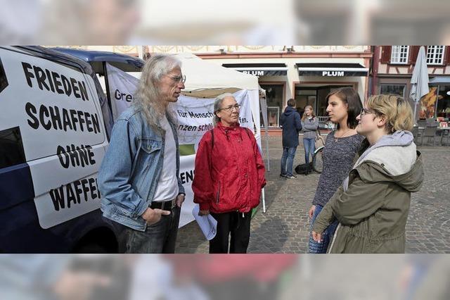 Friedensforum gegen Munitionsfabrik
