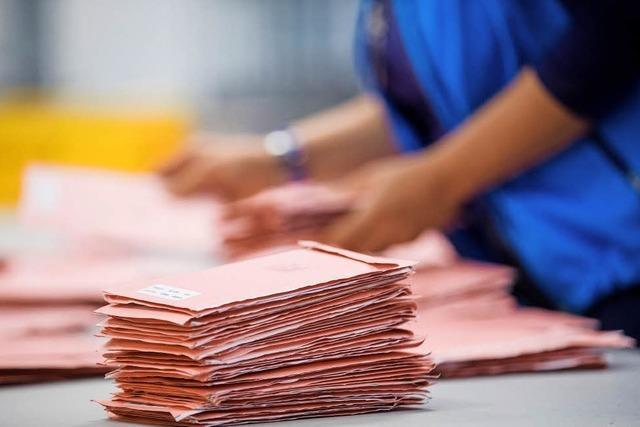 Briefwahl wird immer beliebter