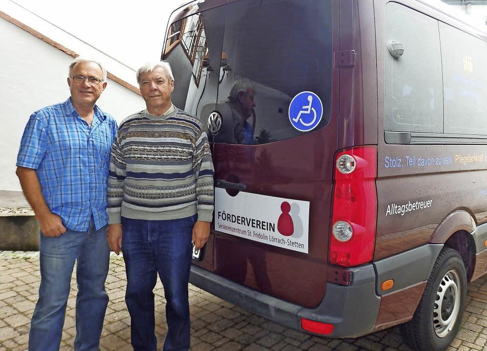Die Seniorenarbeit im Stadtteil Stette... und Heinrich Benner verantwortlich.    | Foto: Johanna Högg