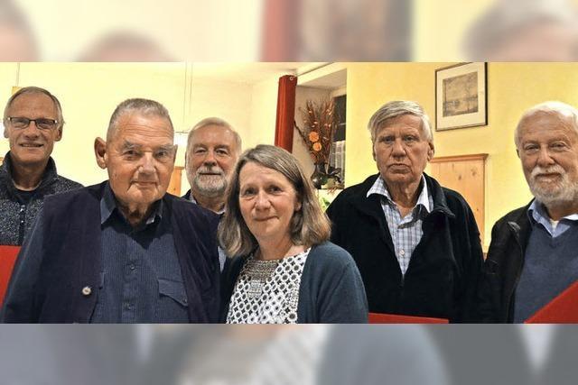 Siegfried Busch ist seit 65 Jahren Genosse