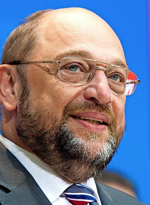 Martin Schulz  | Foto: dpa