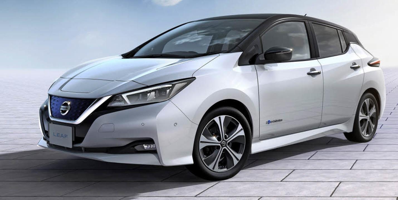 Hoffnungsträger der E-Mobilität (von o...ie nächste Generation des Nissan Leaf     Foto: werksfotos