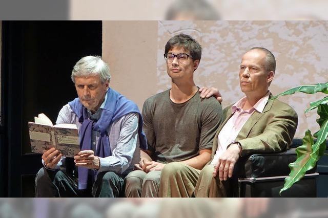 Förnbacher Theater in Basel zeigt Yasmina Rezas Drei-Männer-Stück