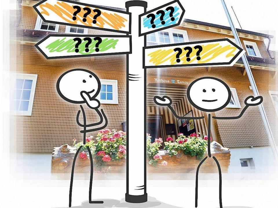 Wer wird Bürgermeister in Tunau? Das w...d. Auf dem Wahlzettel steht kein Name.  | Foto: wehrle/Matthias Enter adobe.com