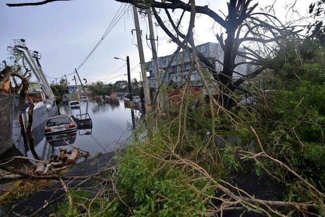 Hurrikan Maria richtet hohen Schaden an
