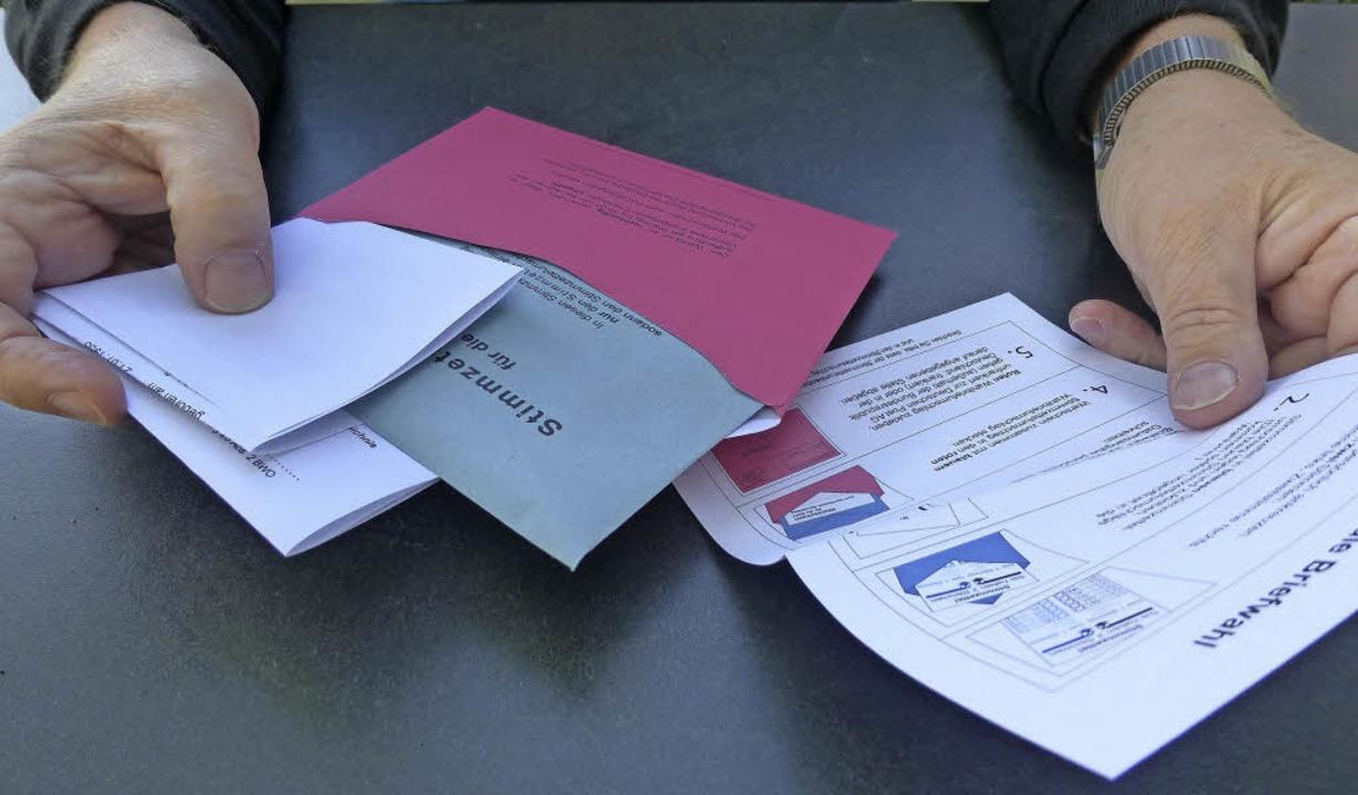 Die Stimmabgabe per Briefwahl wird immer beliebter.   | Foto: Andrea Gallien