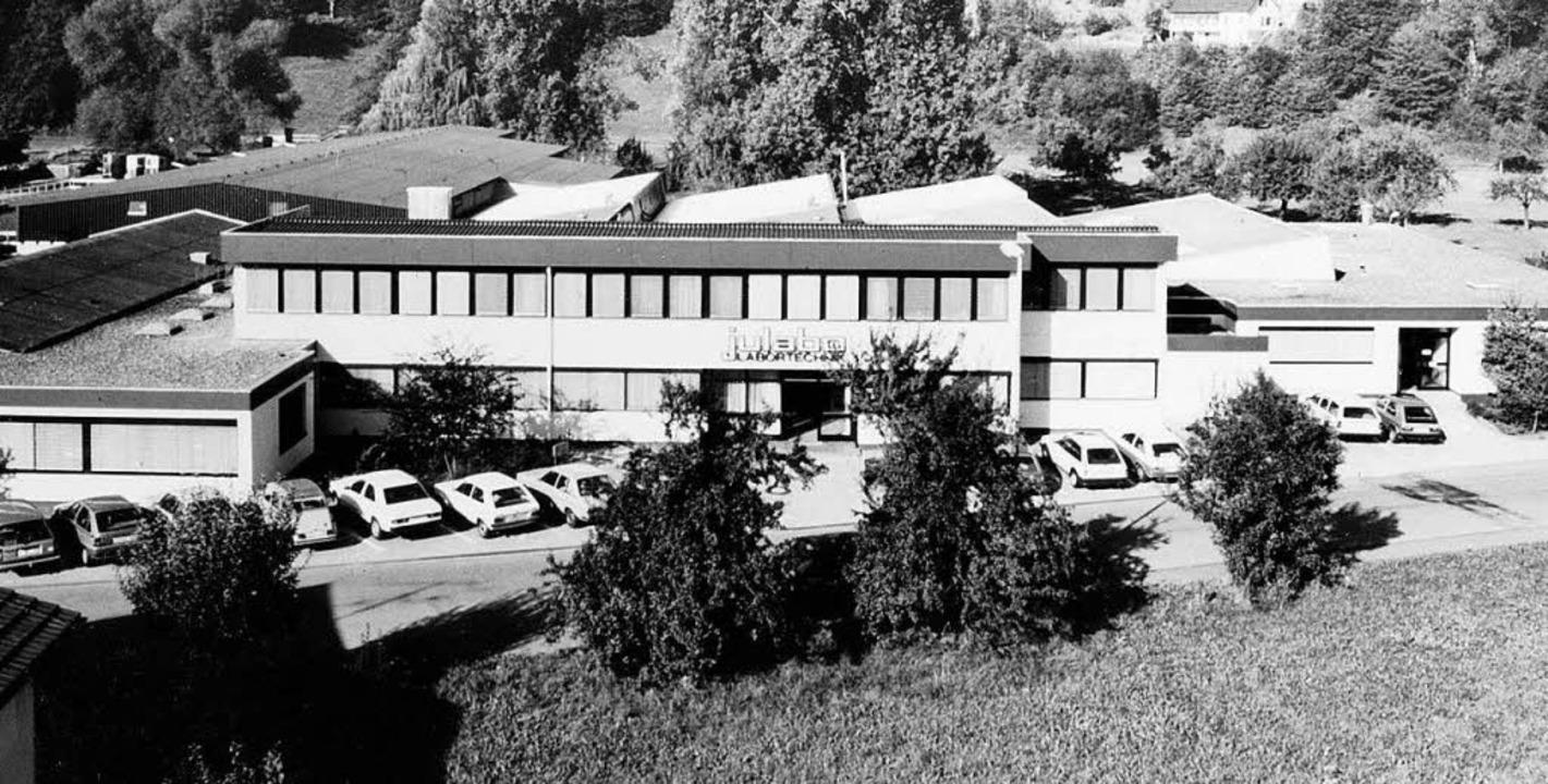 Die Firma Julabo in Seelbach Anfang der 80er-Jahre    Foto: Julabo