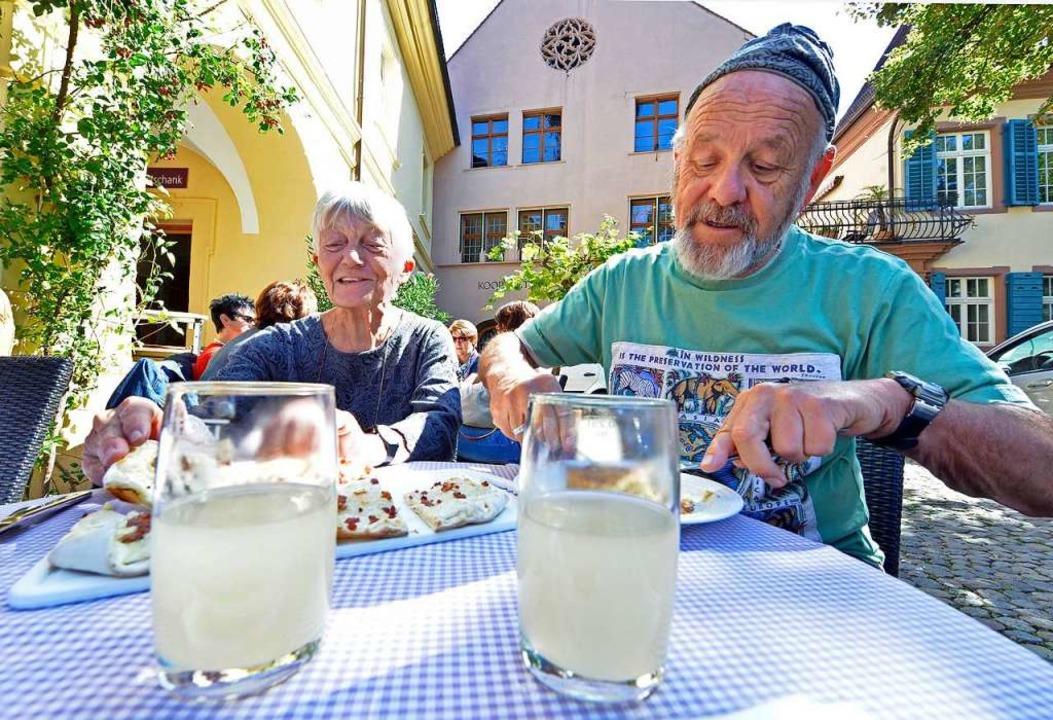 Ein Herbst ohne neuen Wein in Südbaden wäre undenkbar.  | Foto: Michael Bamberger