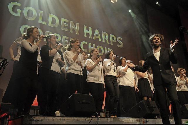 Die Golden Harps geben auf der Oberrheinmesse ein Benefizkonzert