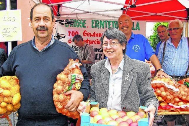 Markt, Musik, Unterhaltung in Tiengen