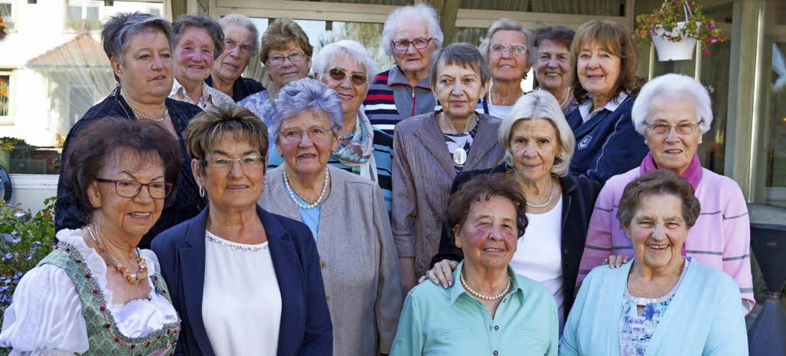 Die Birkendorfer  Gymnastikfrauen feiern das  50-jährige Bestehen der Gruppe.   | Foto: Christiane  Seifried