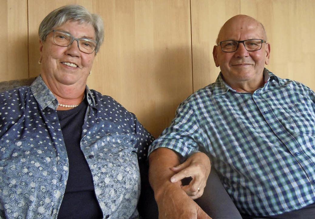 Irmgard und Rudolf Jehle feiern ihre Goldene Hochzeit.  | Foto: Jutta Binner-Schwarz