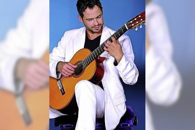 Virtuose an der Gitarre