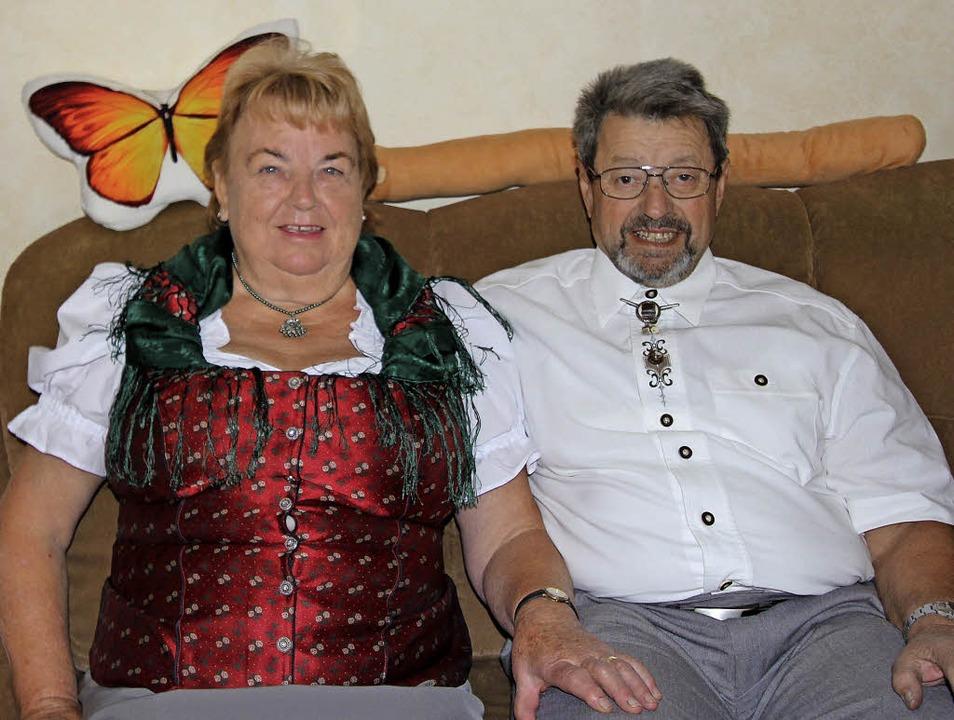 Hans-Dieter und Eva Schies sind seit fünfzig  Jahren miteinander verheiratet.     Foto: Herbert Trogus