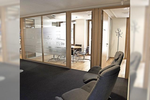 Modernes Geldinstitut für rund 6400 Kunden