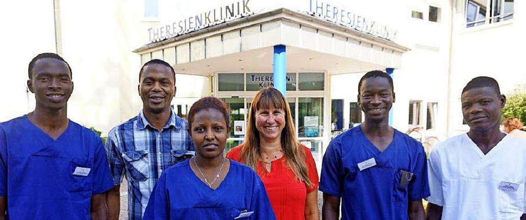 Sie haben in der Theresienklinik Prakt... konnten Freiwilligendienst leisten.      Foto: Theresienklinik